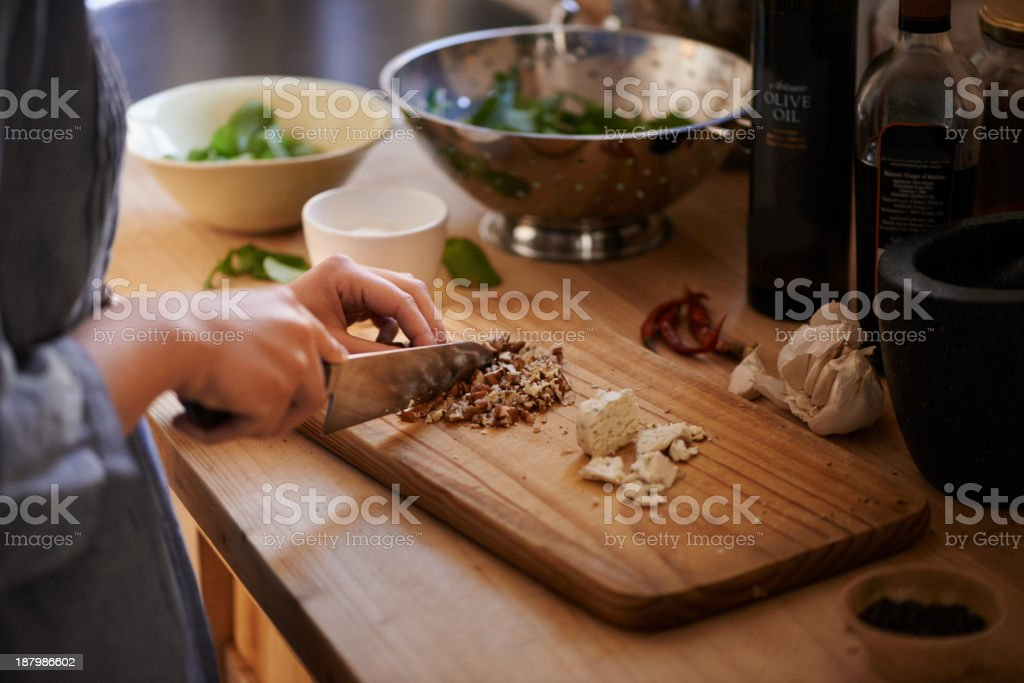 She only uses the best! stock photo