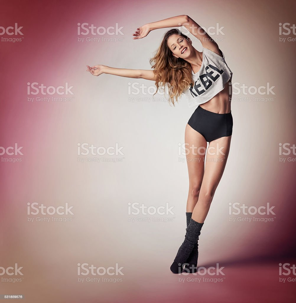 She shimmers with radiance stock photo