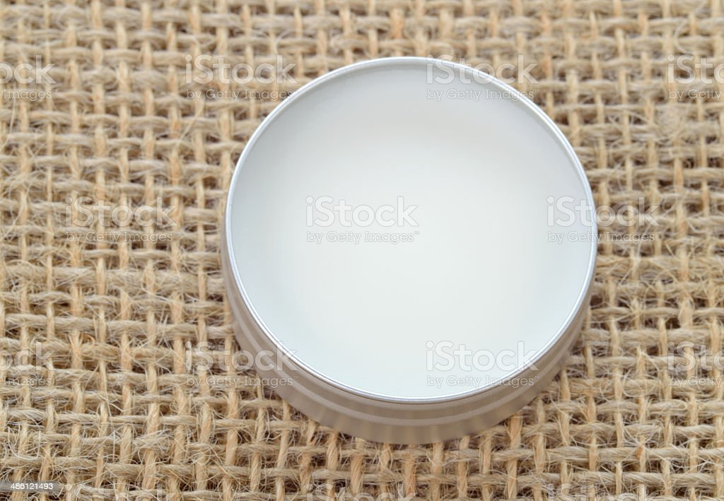 Shea butter perfect lip balm. royalty-free stock photo