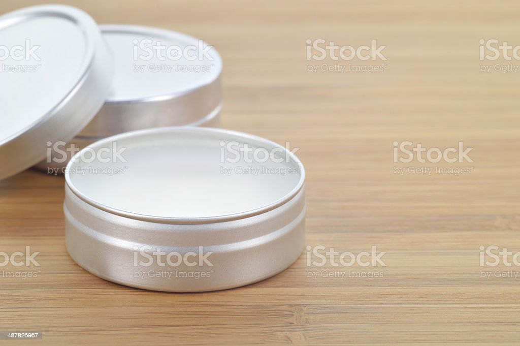 Shea butter perfect lip balm. stock photo