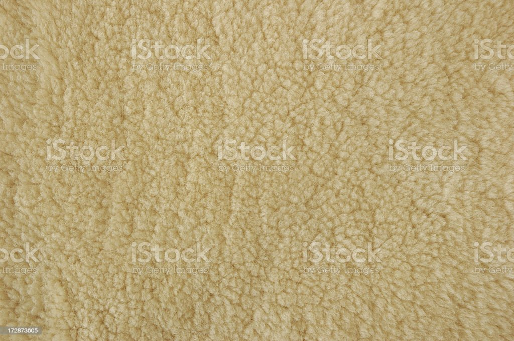 Shearling Wool royalty-free stock photo