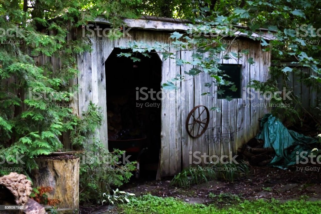 Shed 2 stock photo