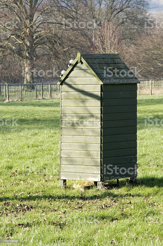 shed royalty-free stock photo