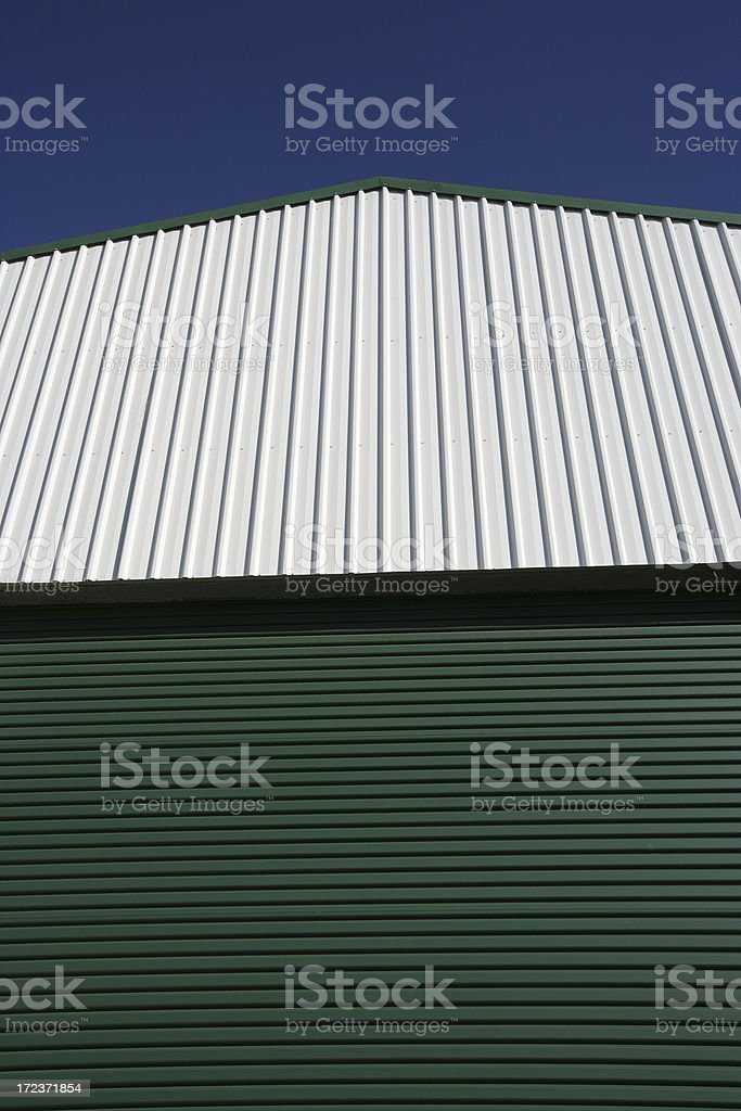 Shed Roof royalty-free stock photo