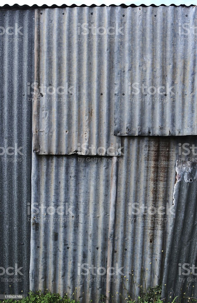 Shed Wall stock photo