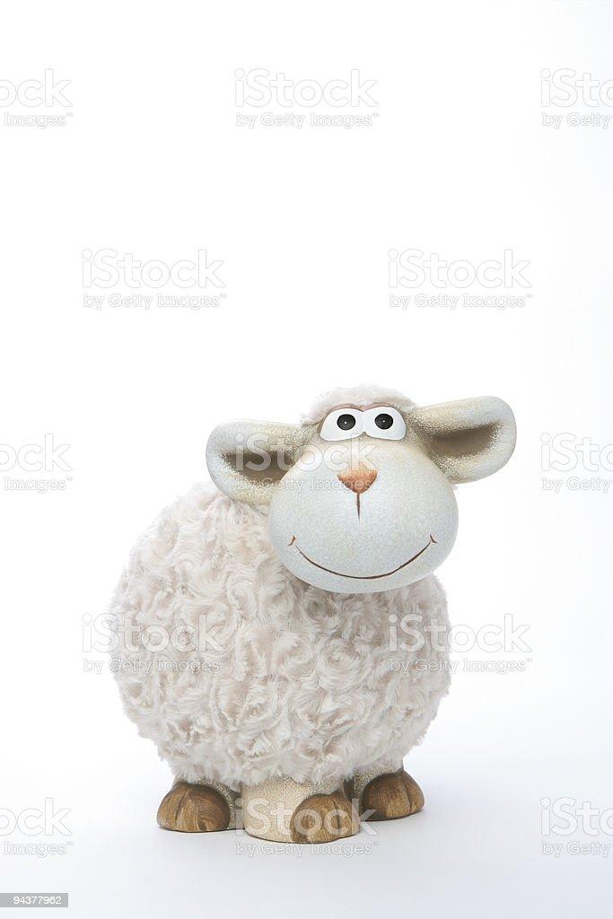 Sheep Coin Bank stock photo