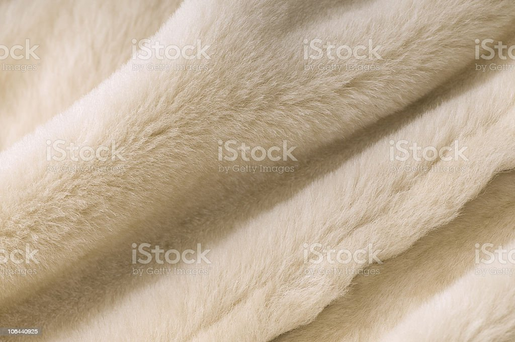 Sheep fur texture royalty-free stock photo