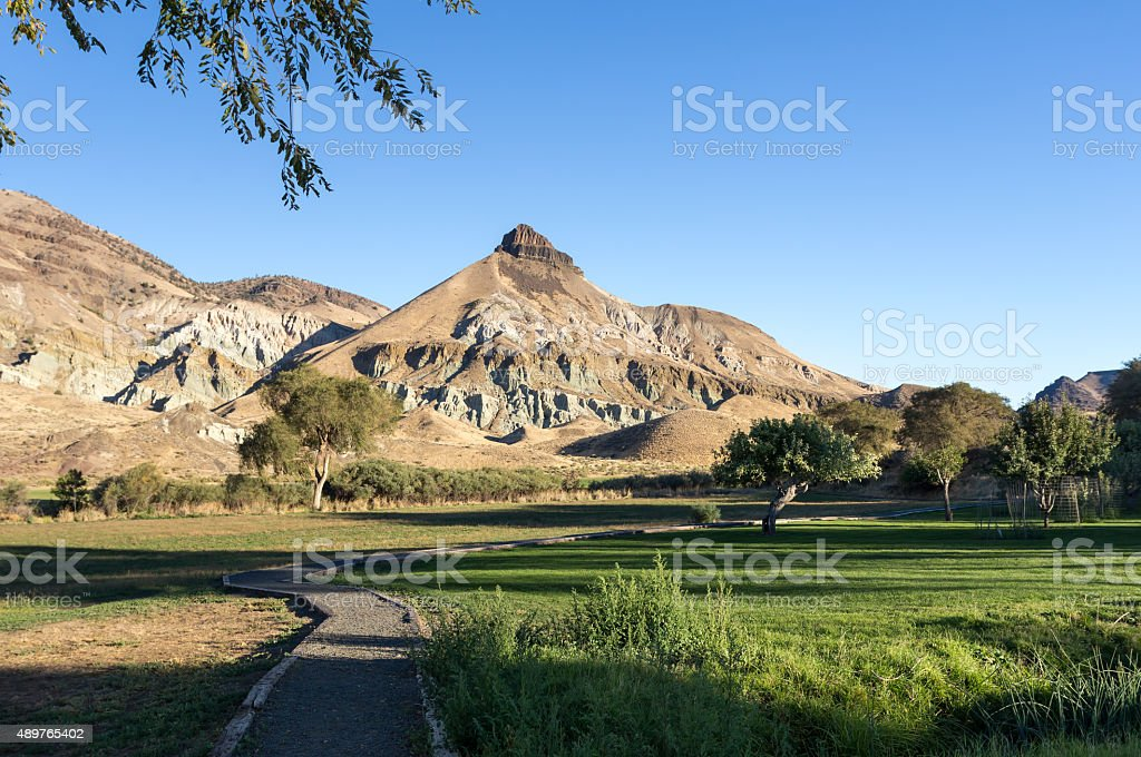 Sheep Rock stock photo