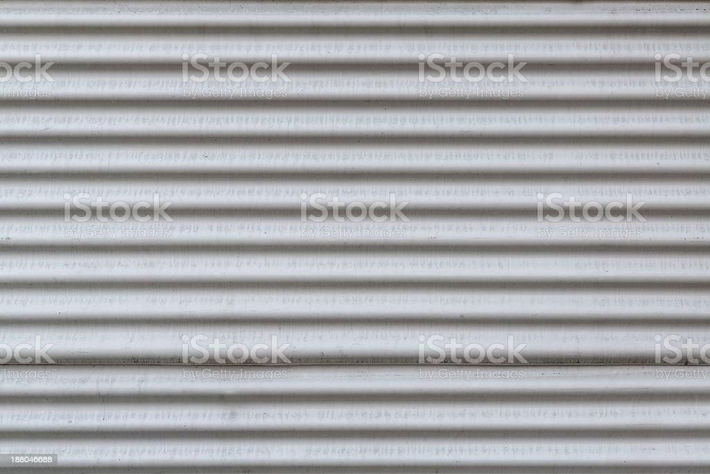 sheet iron wall stock photo