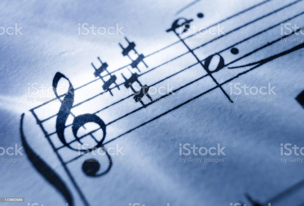 Sheet Music 8 stock photo
