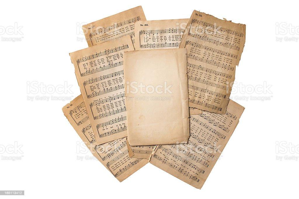 Sheet Music stock photo