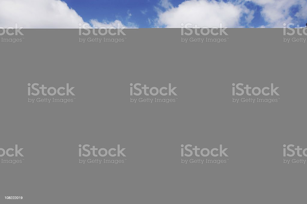 Sheet of $100 Bills royalty-free stock photo