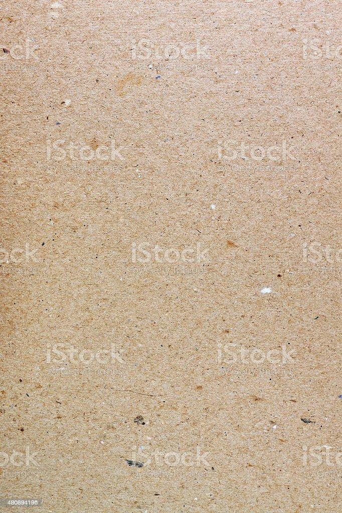 sheet of natural cardboard closeup stock photo