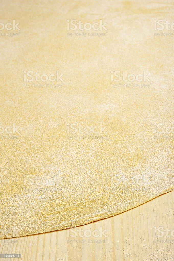 sheet of pasta royalty-free stock photo