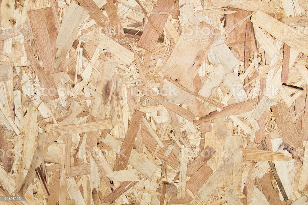 Sheet of plywood with fragments stock photo