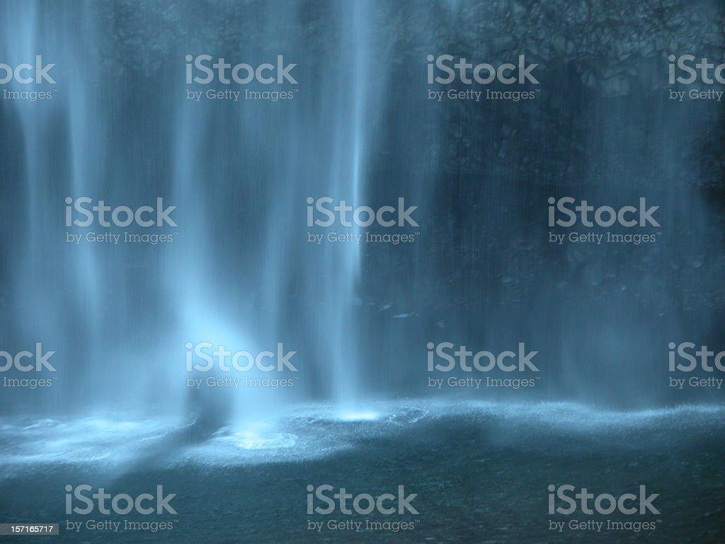 Sheeting Waterfall royalty-free stock photo