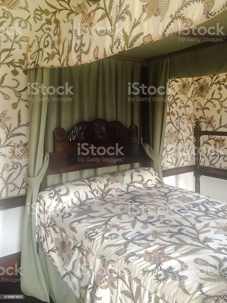 Sheets of silk stock photo