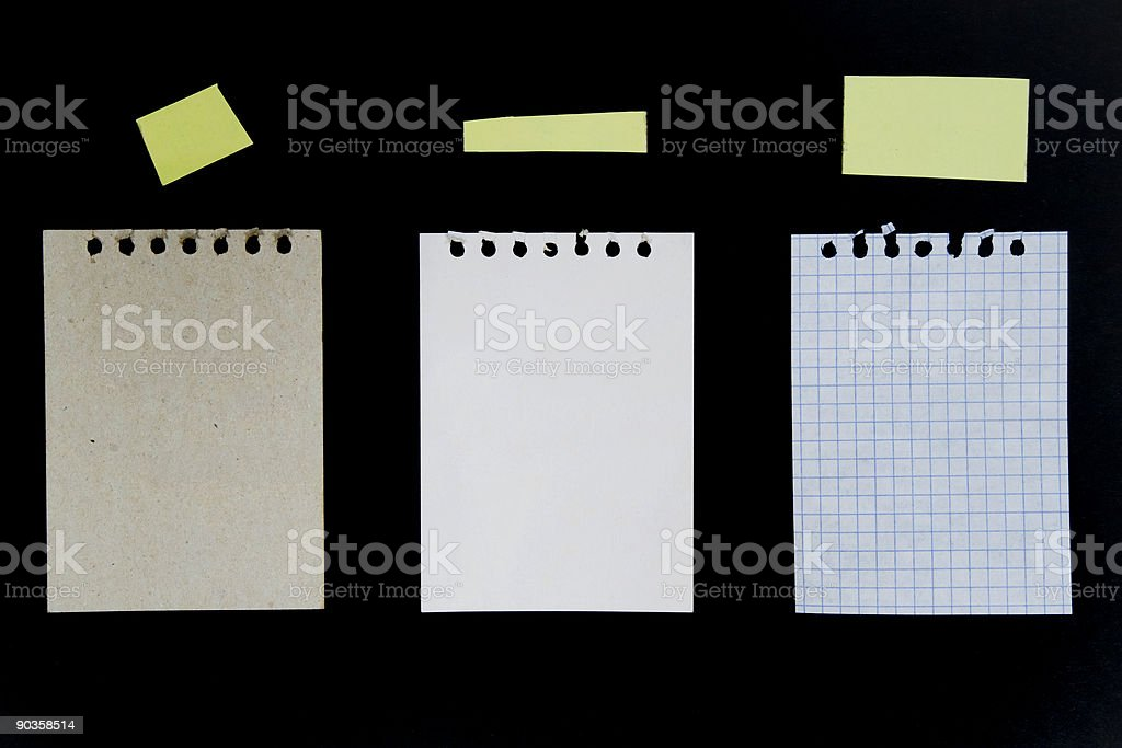Sheets royalty-free stock photo