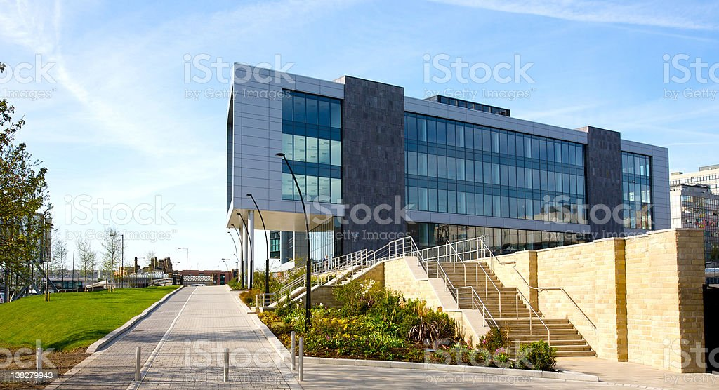 Sheffield Digital Campus stock photo