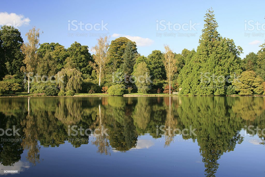 Sheffield Park Gardens in West Sussex, England royalty-free stock photo