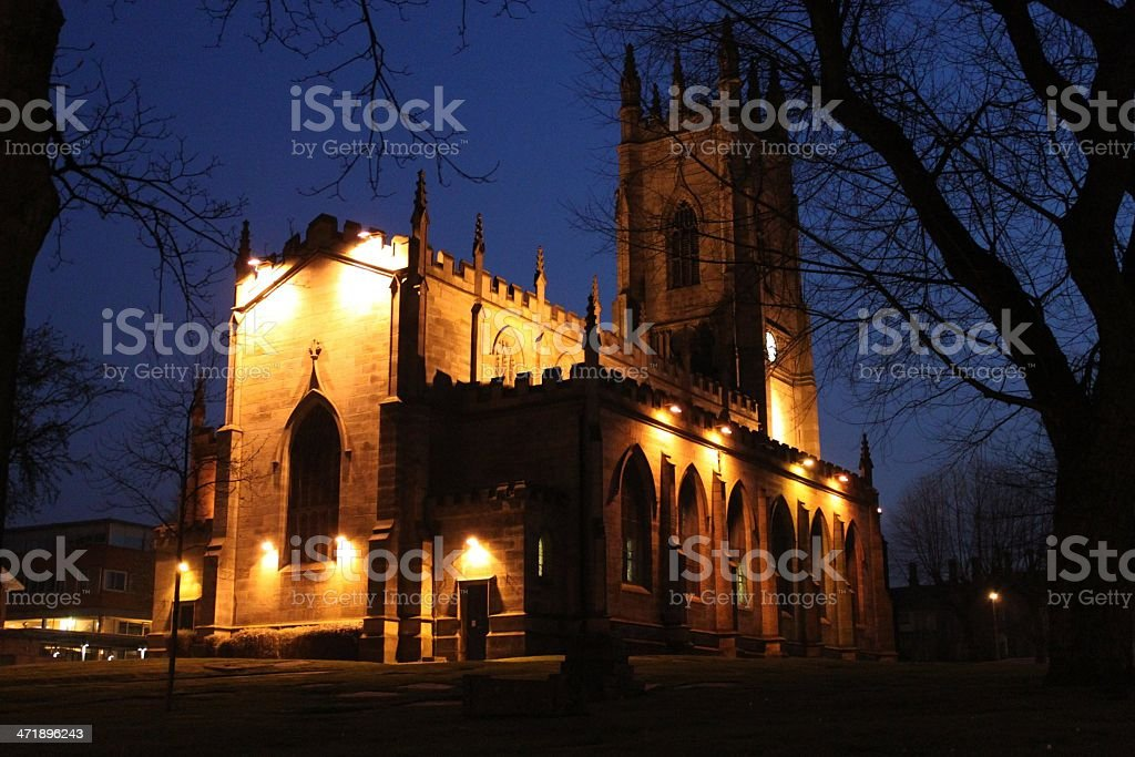 Sheffield St Georges stock photo