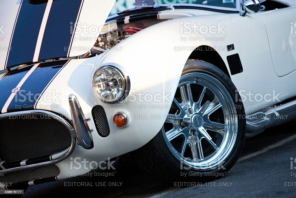 Shelby AC Cobra royalty-free stock photo