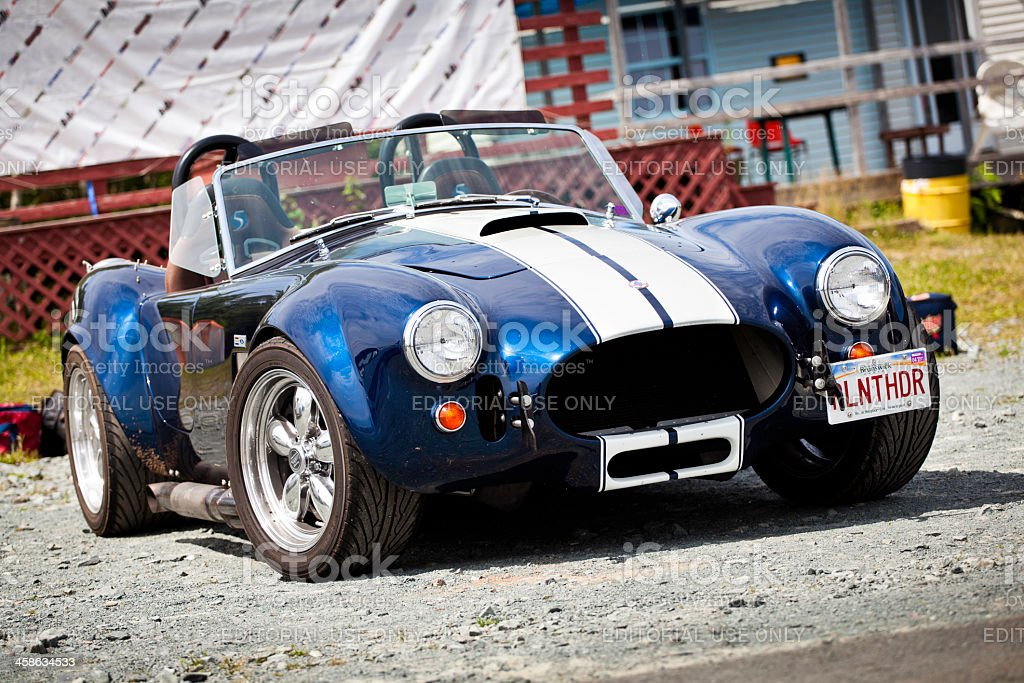 Shelby AC Cobra royalty-free stock photo