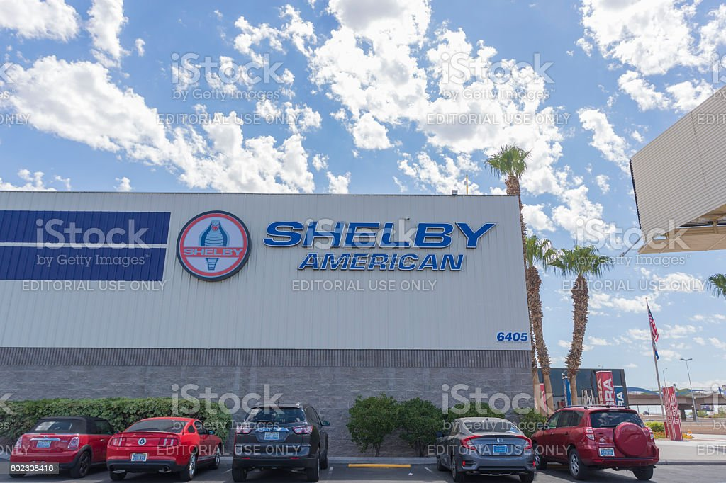 Shelby American stock photo