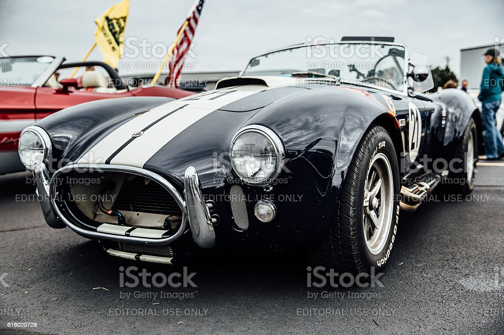 Shelby Cobra at Leesburg Virginia stock photo
