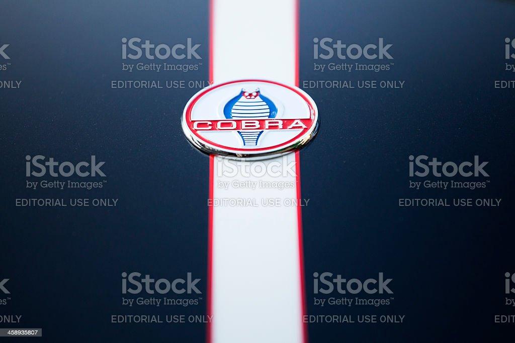 Shelby Cobra Emblem stock photo