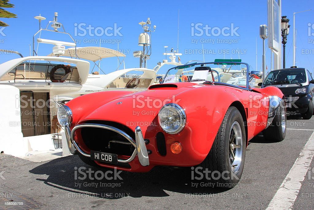 AC Shelby Cobra royalty-free stock photo