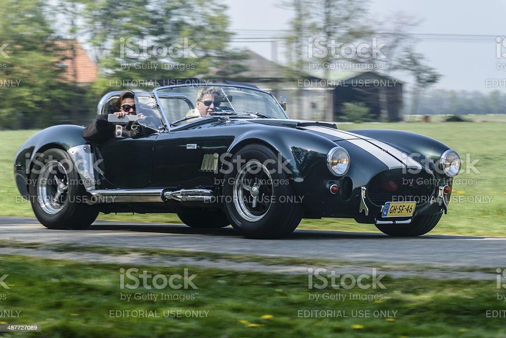 Shelby Cobra stock photo