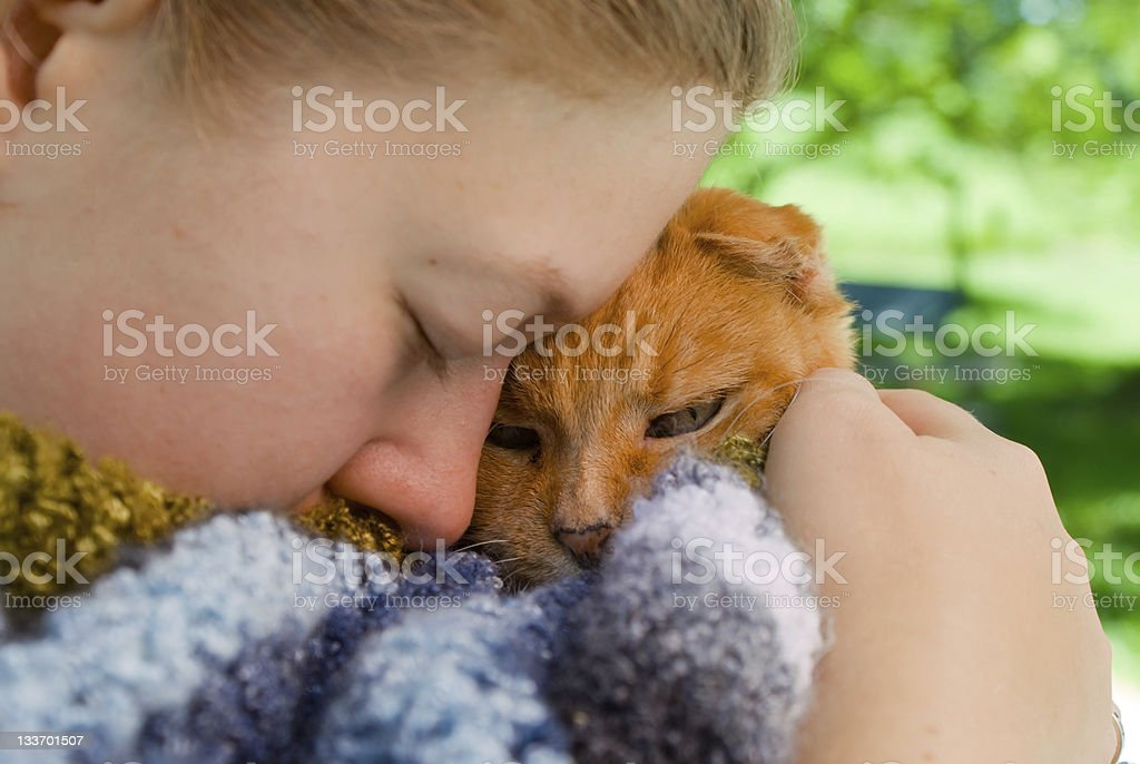 She'll Be Better There royalty-free stock photo