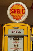 Shell Gas Pump Station Retro Antique