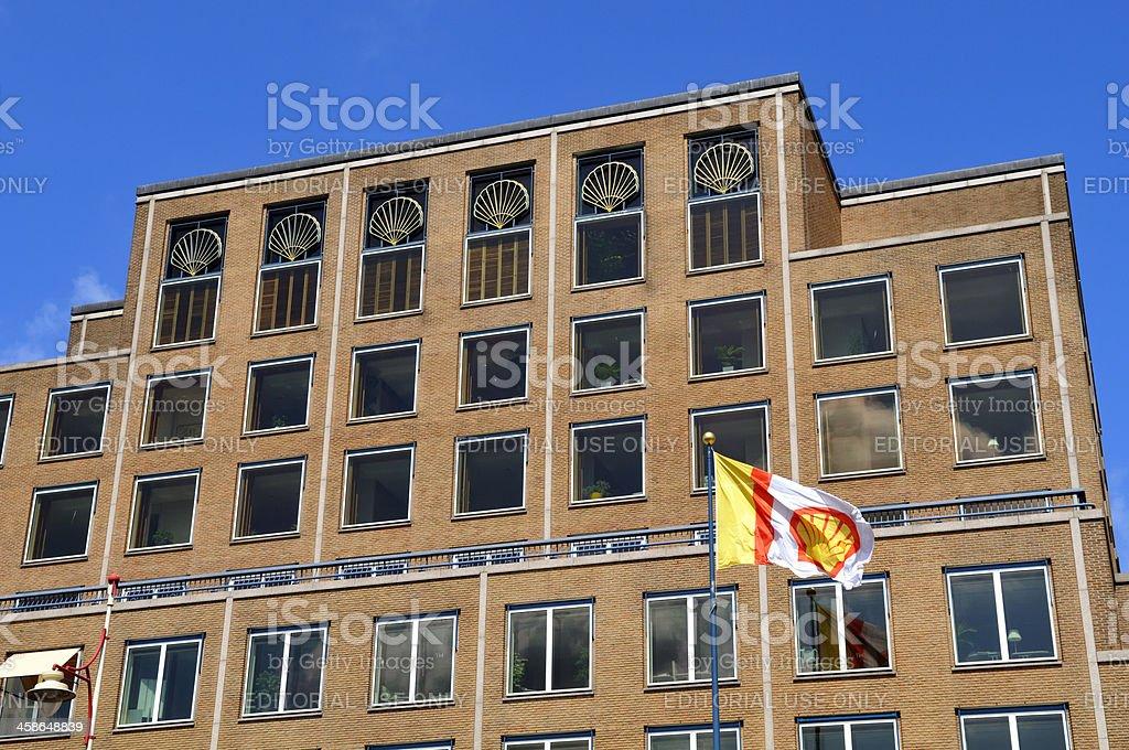 Shell headquarters stock photo