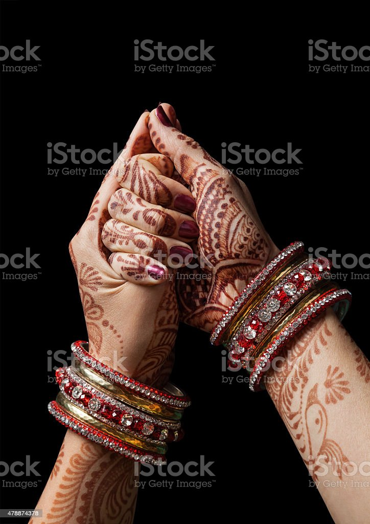 Shell mudra stock photo