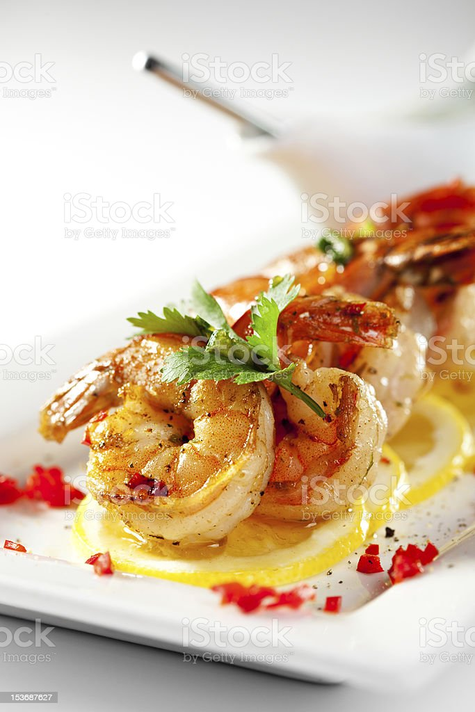 Shellfish stock photo