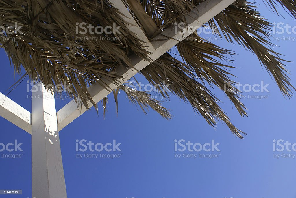 Shelter from the Sun royalty-free stock photo