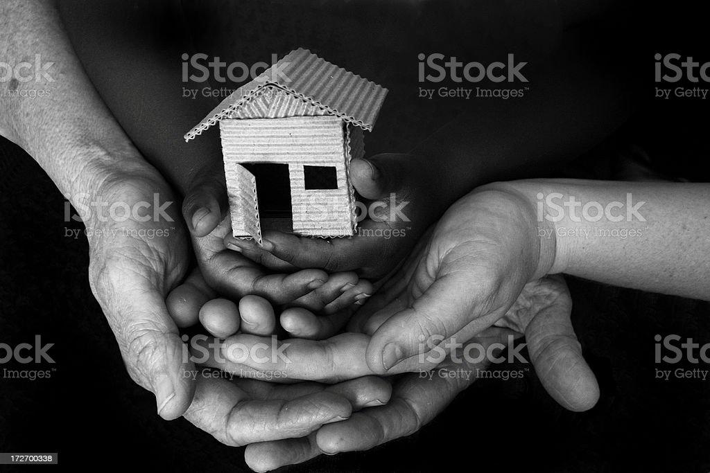 shelter royalty-free stock photo