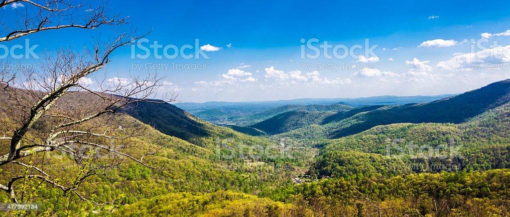 Shenandoah Mountians 3 stock photo