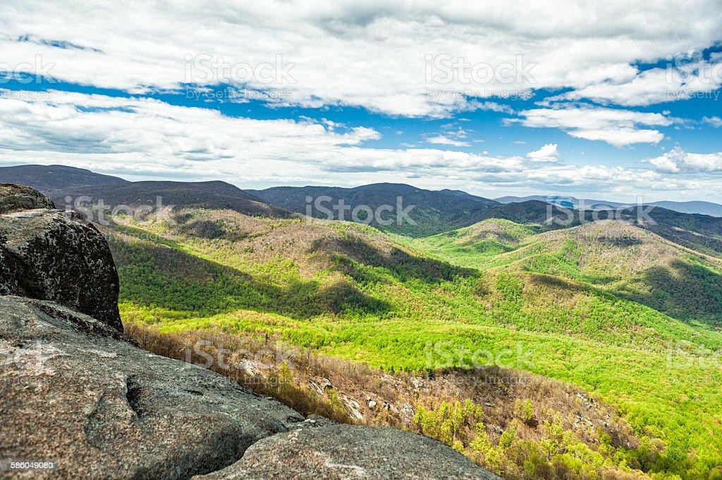 Shenandoah National Park in Virginia stock photo