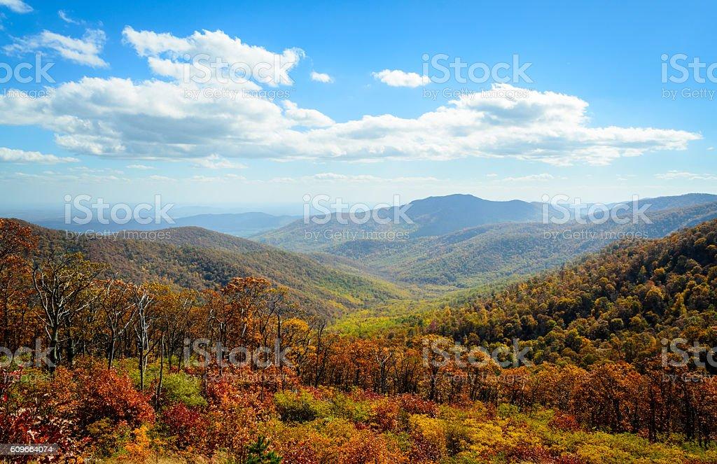 Shenandoah National Park stock photo