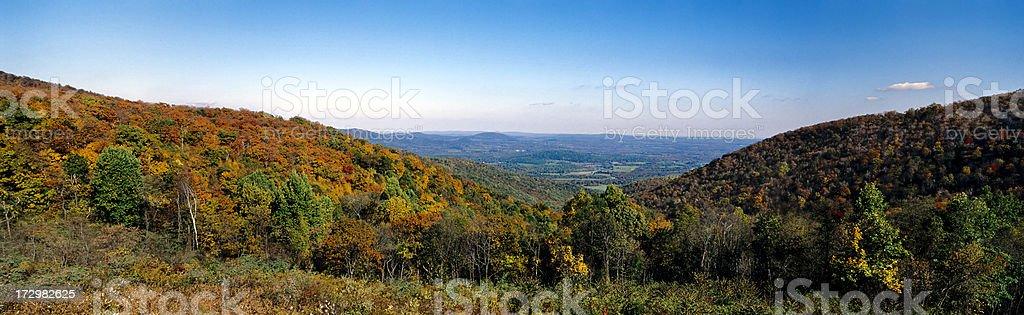 Shenandoah Sunrise royalty-free stock photo