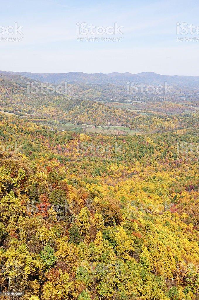 Shenandoah Valley stock photo