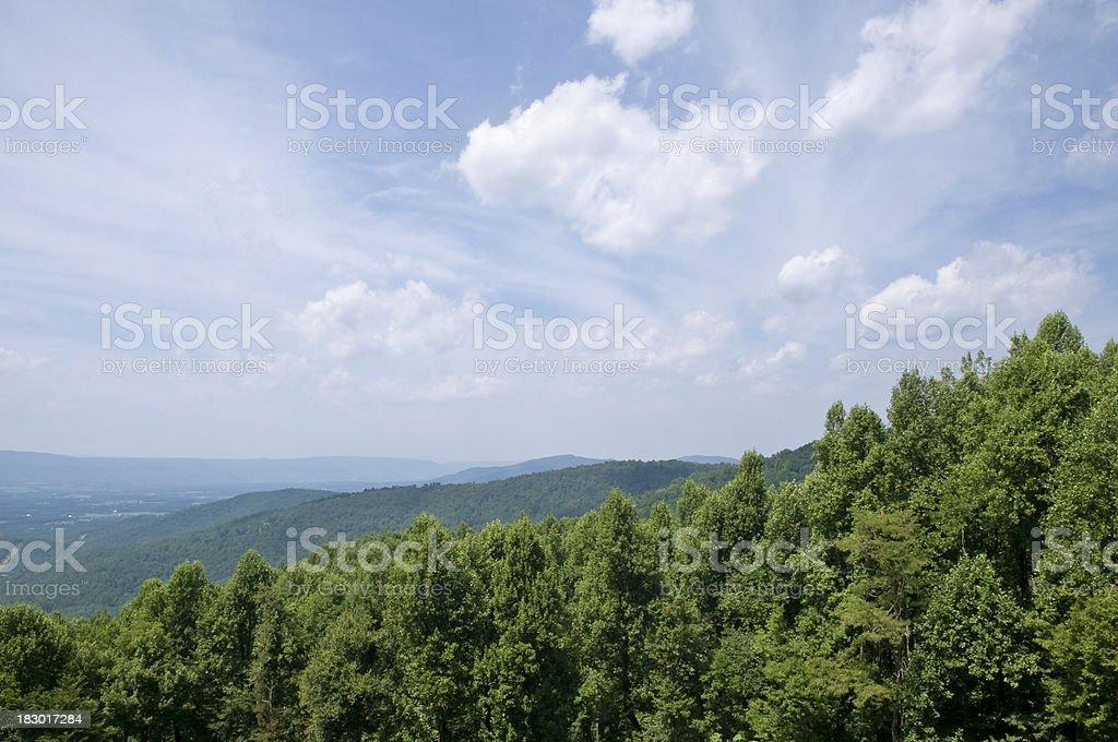 Shenandoah Valley royalty-free stock photo