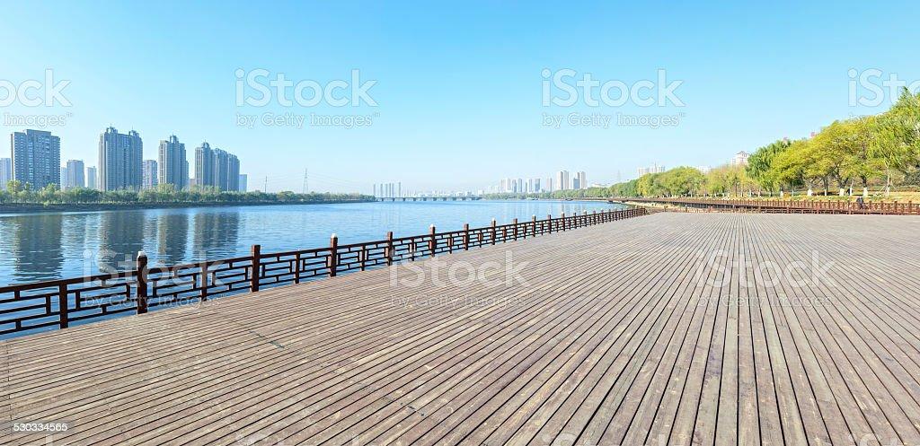Shenshuiwan Park stock photo