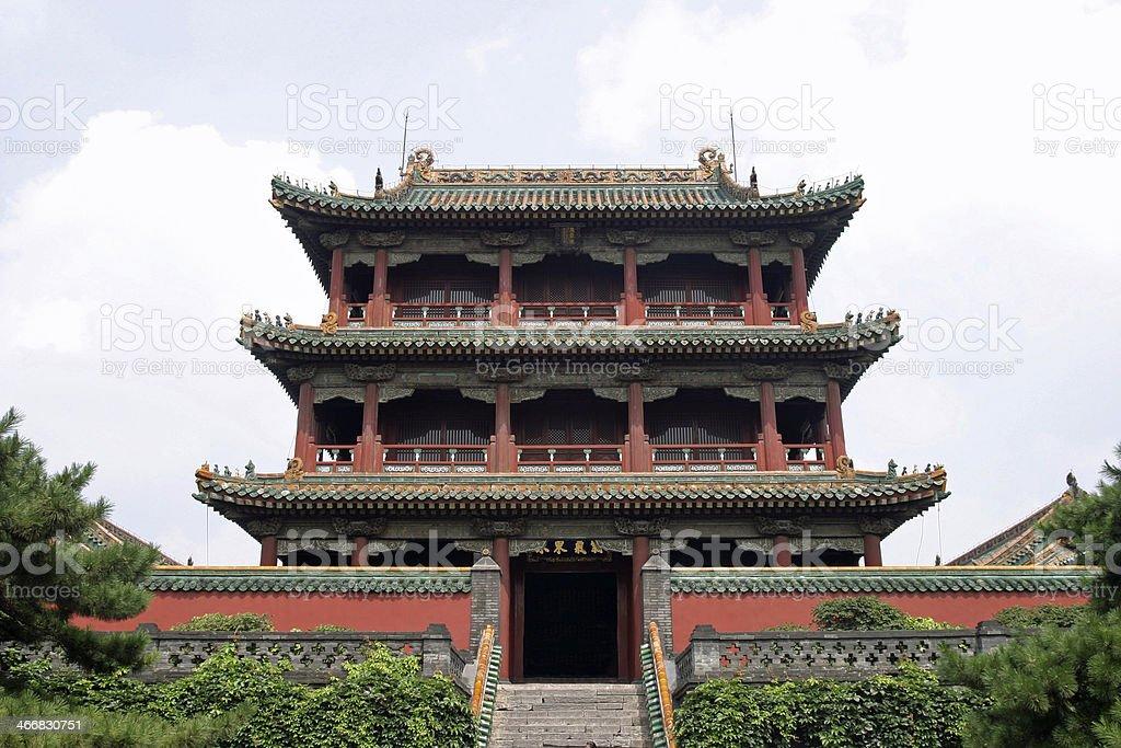 Shenyang Gugong in China stock photo