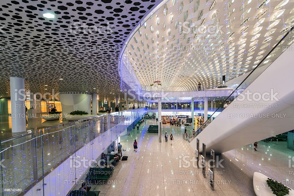Shenzhen Airport stock photo