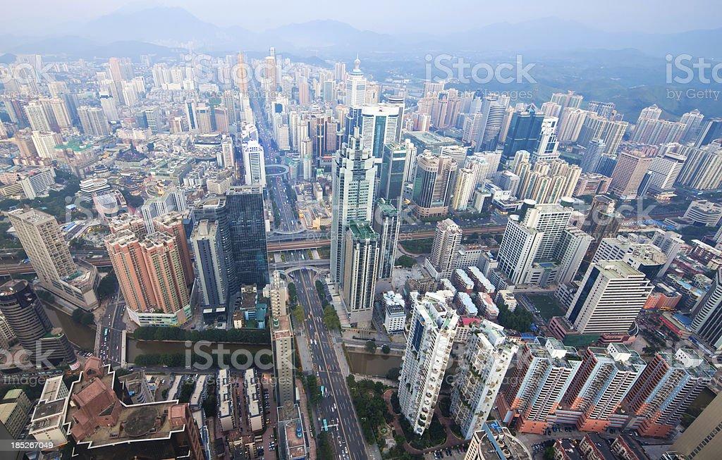 Shenzhen, China royalty-free stock photo