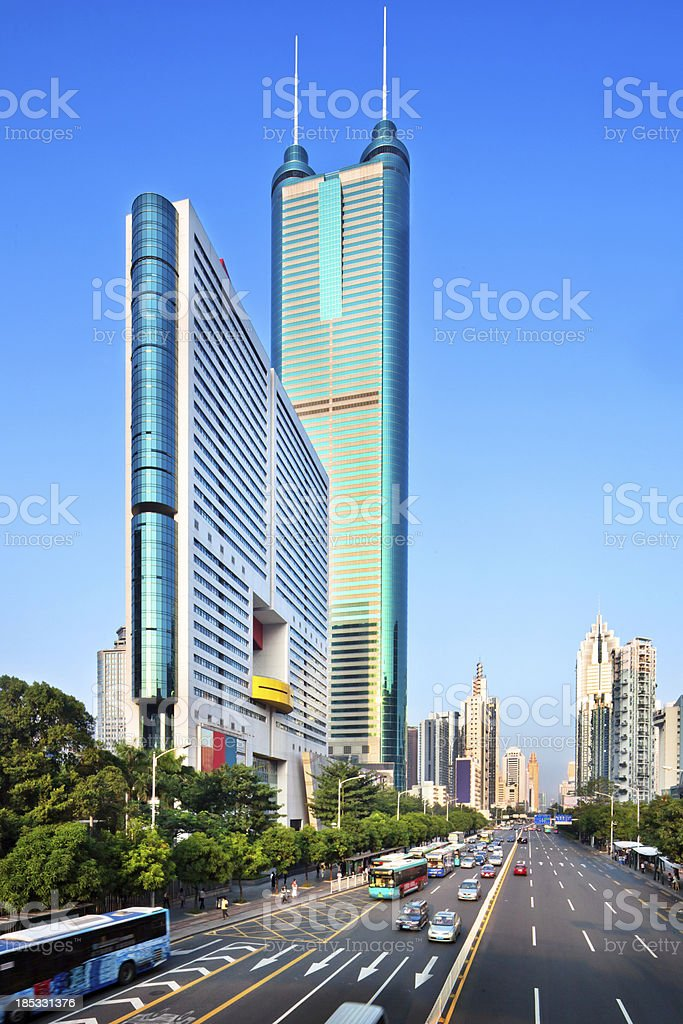 'Shenzhen, China' stock photo